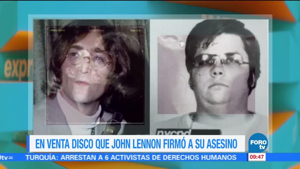 disco, John Lennon, Nueva York, venta