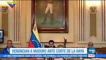 Colombia, Chile, Denuncian A Nicolas Maduro, La Haya
