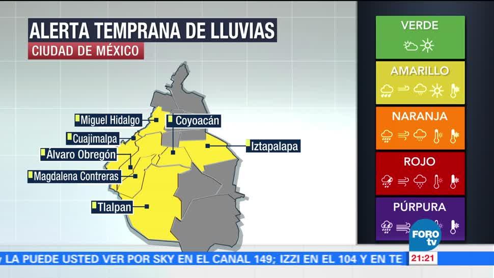 noticias, forotv, Lluvias, Valle de México, intensas lluvias, afectaciones