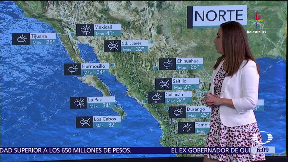 miércoles, tormentas, Sonora, Chihuahua, Durango, Sinaloa, Michoacán