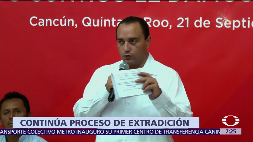 Roberto Borge, exgobernador de Quintana Roo, suspensión provisional, orden de aprehensión