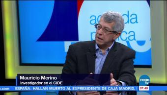 Mauricio Merino, investigador en el CIDE, Sistema Nacional Anticorrupción, fiscal
