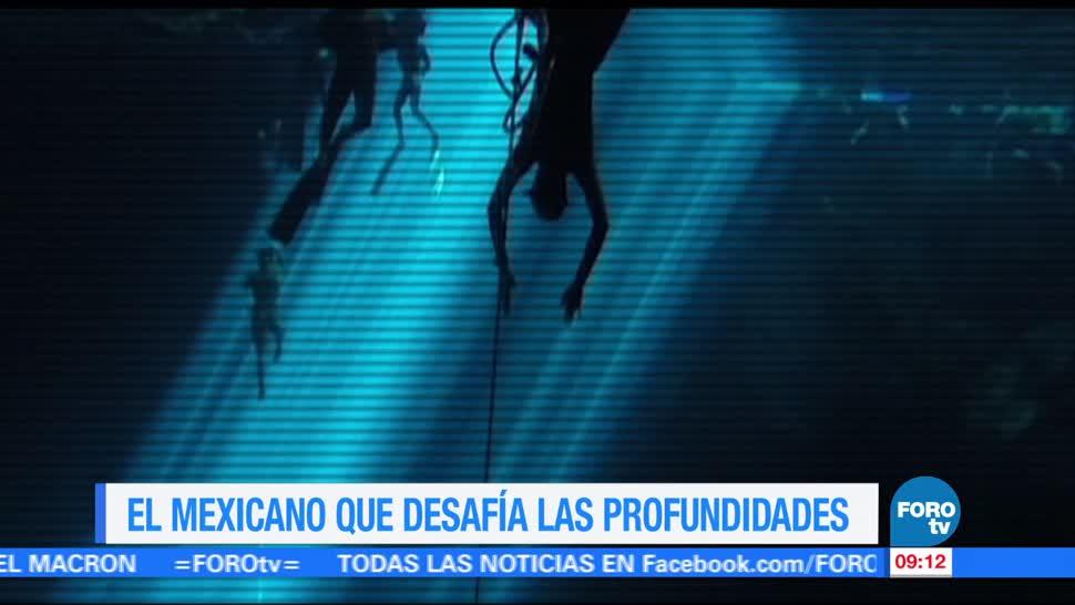 Ximena Cervantes, entrevista, deportista de apnea, buceo libre, Alejandro Lemus