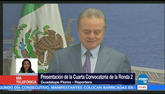 Pedro Joaquín Coldwell, secretario de Energía, cuarta convocatoria, Ronda 2