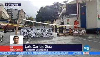 Suman, 16 semanas, protestas opositoras, Venezuela, Caracas, Huelga General