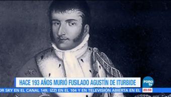 Efeméride, En Una Hora, Agustín, de Iturbide, emperador, México