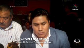 Alcalde, niega, retención, Los Ángeles Azules, Tequexquitla, Tlaxcala,