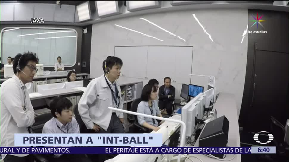 Int-Ball, primer dron, Estación Espacial Internacional