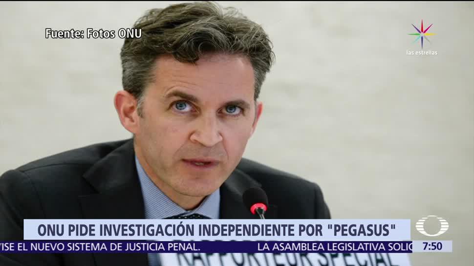 Expertos, ONU, investigar espionaje, México