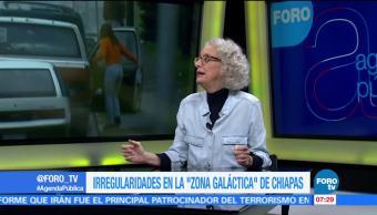 Marta Lamas, investigadora en la UNAM, Irregularidades, Zona Galáctica