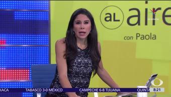 Al aire, Paola Rojas, julio