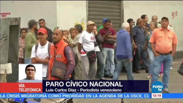periodista Luis Carlos Díaz, paro cívico, oposición venezolana, Asamblea Constituyente