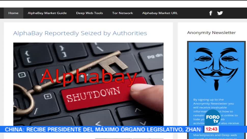 Jeff Sessions, fiscal general, Estados Unidos, venta de productos ilegales, internet
