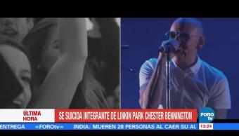 cantante de Linkin Park, Chester Bennington, residencia de Los Angeles, músico