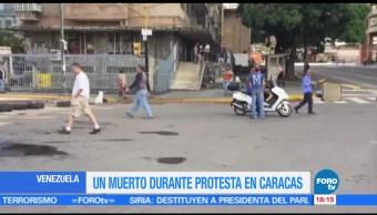 Suman, dos muertos, huelga opositora, Venezuela