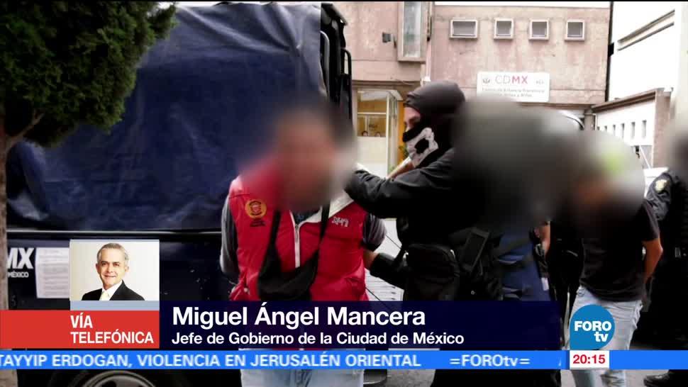 noticias, forotv, Mancera, Operativo en Tláhuac, trabajo coordinado, Fuerzas Federales