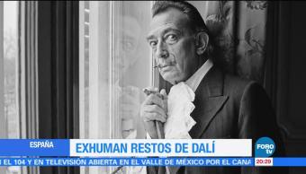 noticias, forotv, Exhuman restos, Salvador Dalí, Dalí, Exhuman
