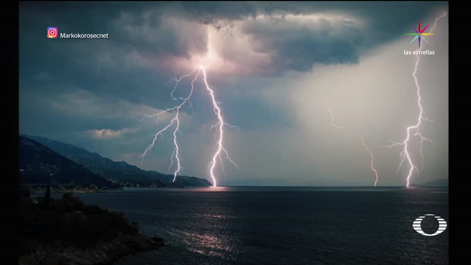 noticias, forotv, Tormentas, supercelulares, corriente rotatoria, tormentas supercelulares