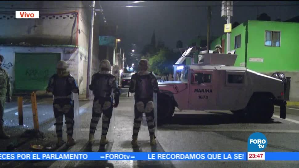 noticias, televisa, Semar, casa de seguridad, El Ojos, Tlahúac
