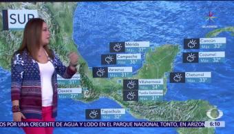 noticias, televisa, Tormentas, muy fuertes, 10 entidades, México