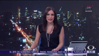 Noticias, televisa, Las noticias, con Danielle Dithurbide, Programa, 21 de julio del 2017