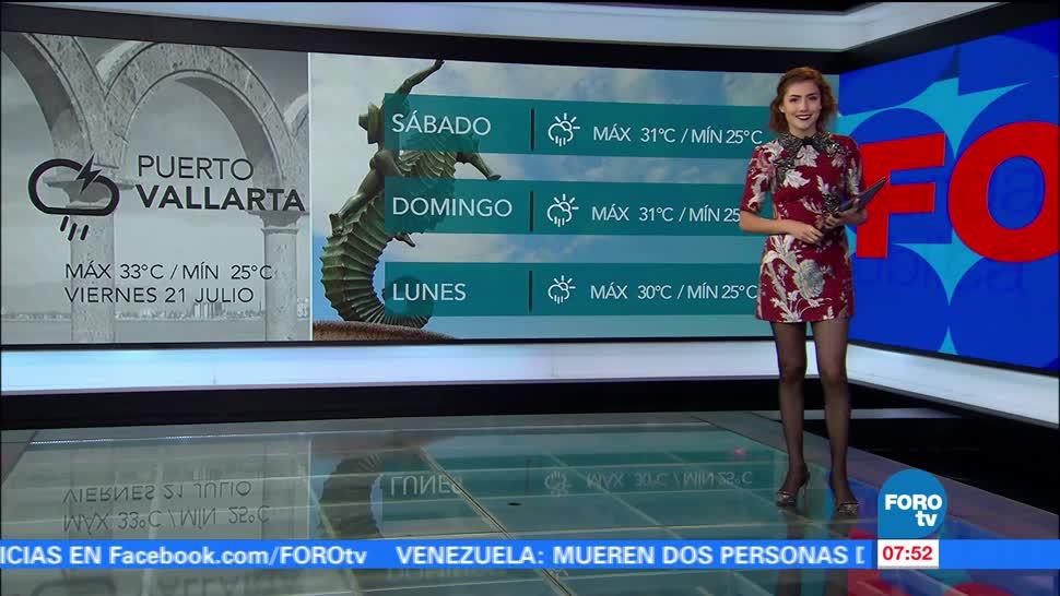noticias, televisa, Seguirán, lluvias, gran parte, México