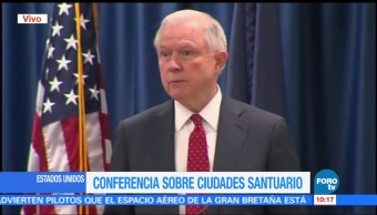 noticias, forotv, Jeff Sessions, criminalidad, Estados Unidos, prevenir el crimen