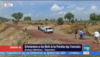noticias, forotv, Enfrentamiento, San Martín de las Pirámides, tres lesionados, Estado de México