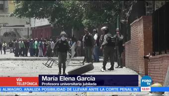 noticias, forotv, Como se vivió, paro cívico, Venezuela, María Elena García