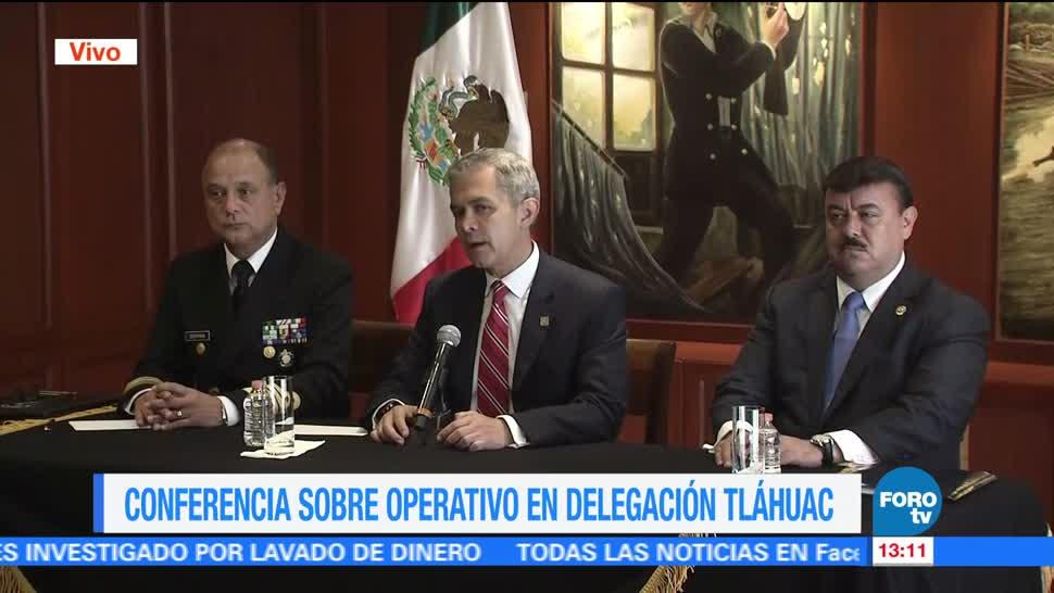 noticias, forotv, Tláhuac, asociación delictiva, sumamente violenta, Mancera