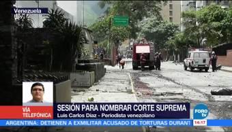 Parlamento Venezolano, Designacion, Magistrados, Luis Carlos Diaz
