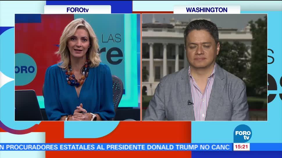 Ariel Mousatsos, Sean Spicer, Vocero De La Casa Blanca, Washington