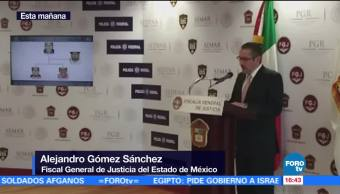 Detienen, Lider De Celula Criminal, Edomex, Fiscalia Del Edomex