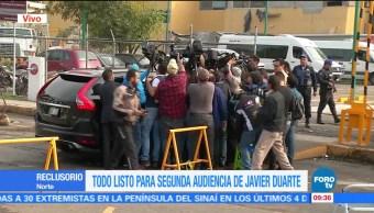 Todo Listo, Segunda Audiencia, Javier Duarte, Reclusorio Norte