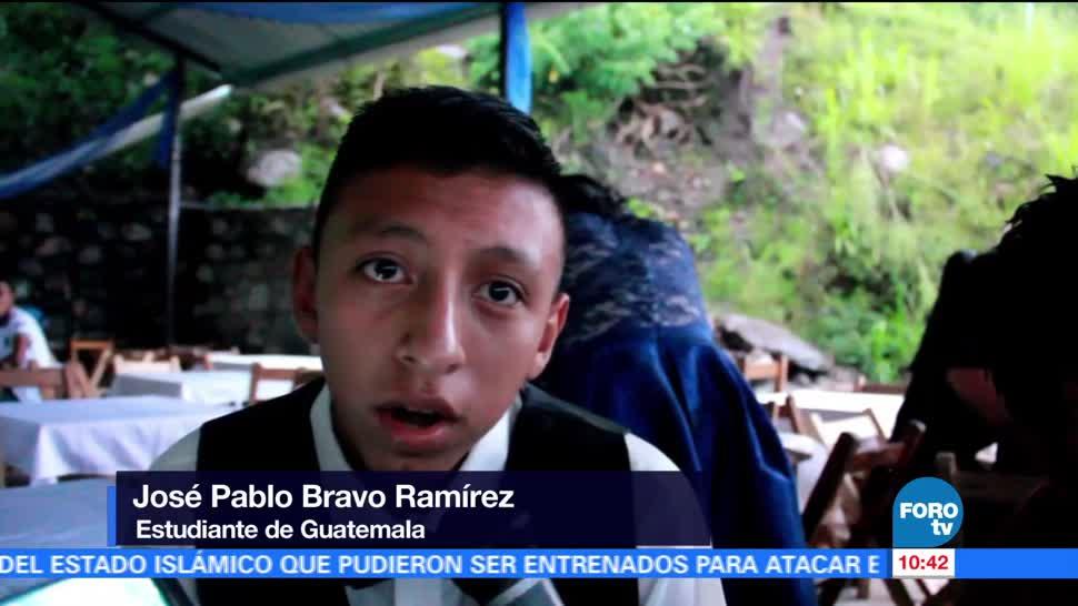 Guatemaltecos, Finalizan Estudios, Telesecundaria, Chiapas