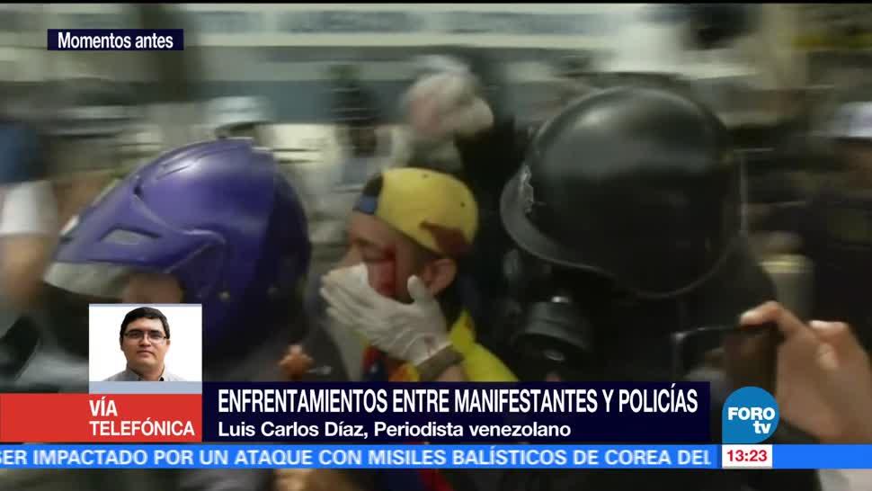 Suman 350 Detenidos, Protestas, Nicolas Maduro, Venezuela