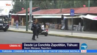 La Secretaria De Seguridad Publica De La Ciudad De Mexico, Inspeccion, Vehiculos, Motocicletas