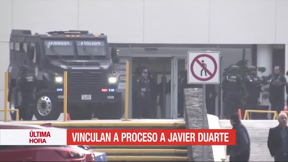 Juez Vincula Proceso Javier Duarte Exgobernador Veracruz Audiencia
