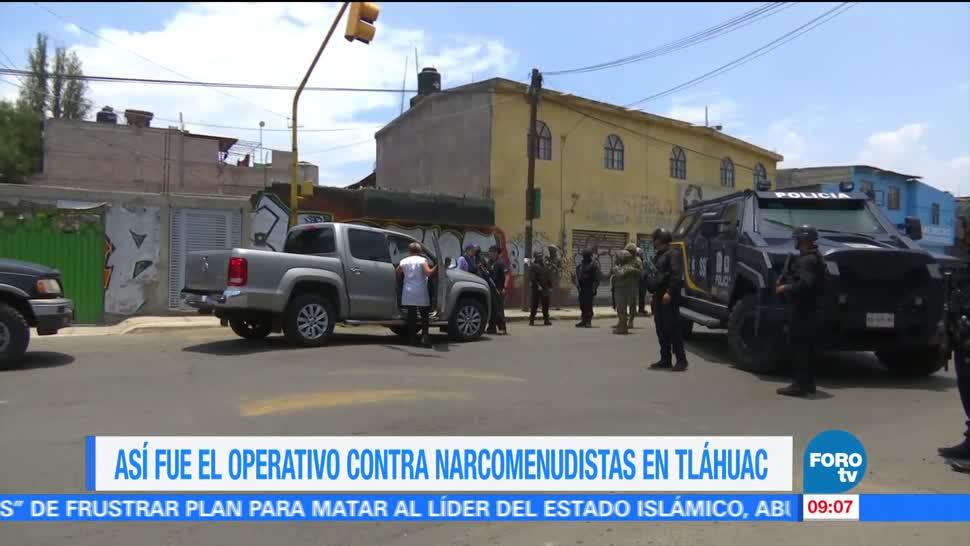 Operativo, Asi Fue, Narcomenudistas, Tlahuac