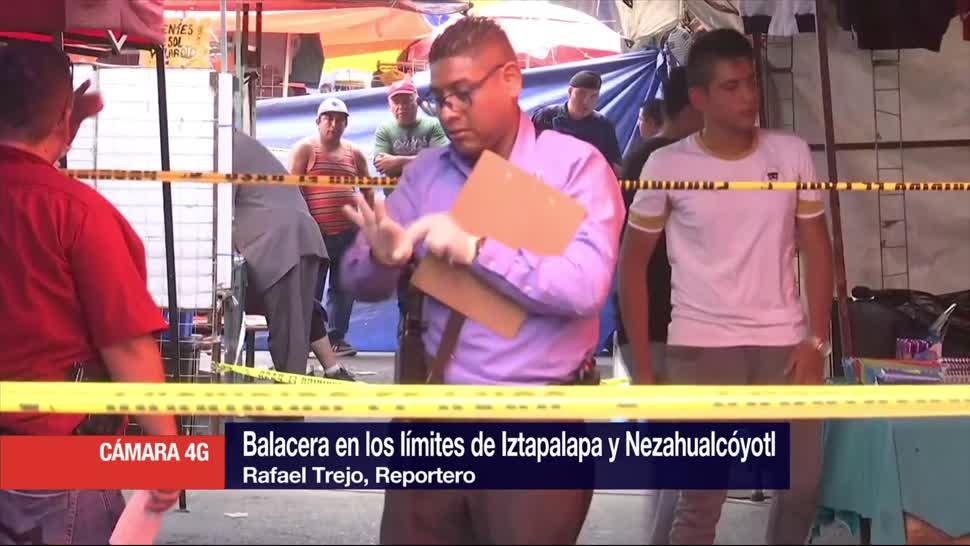 Dos Muertos, Varios Heridos, Balacera, Tianguis Iztapalapa