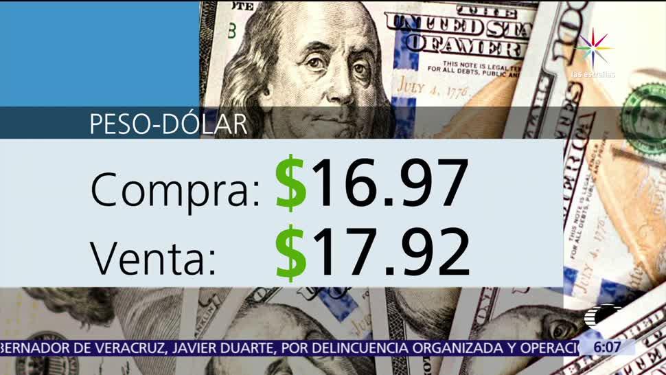 Dólar Vende 17.92 Casas de cambio