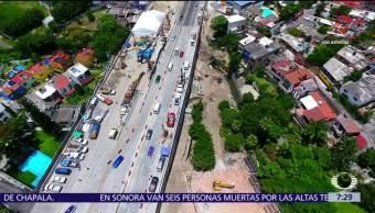 Secretaría de Comunicaciones, Abren cuarto carril, Paso Express de Cuernavaca, Cuernavaca