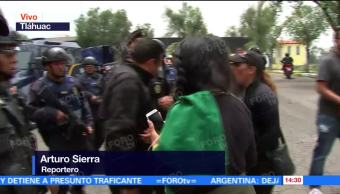 Policias Capitalinos Detienen Panteon Tlahuac Varias Personas