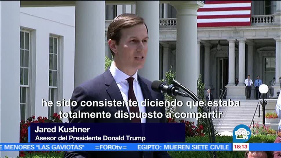 Kushner Reconoce Cuatro Reuniones Rusos Yerno Asesor