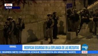 Israel Gobierno Modifica Seguridad Explanadas Mezquitas Detectores De Metales