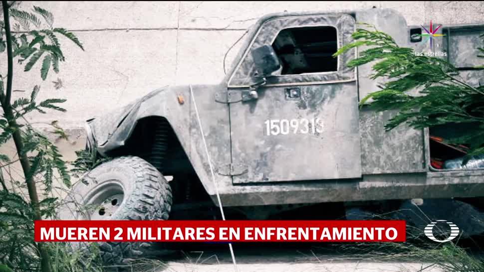 Maerker Mueren Soldados Tiroteo Huachicoleros Tamaulipas