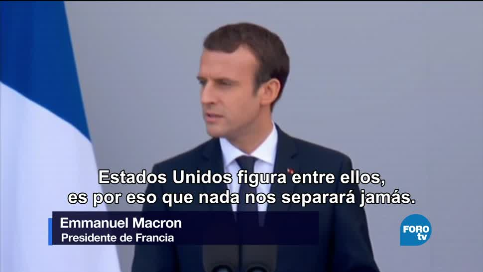 Macron Lider Mundo Libre Noticias Global