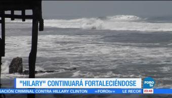 Guerrero Jalisco Huracan Hillary Intensifica Categoria