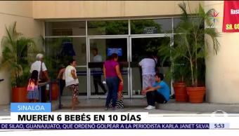 hospital, Los Mochis, muerte, bebés