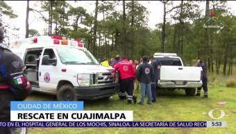 Rescata, mujer, menores, Cuajimalpa